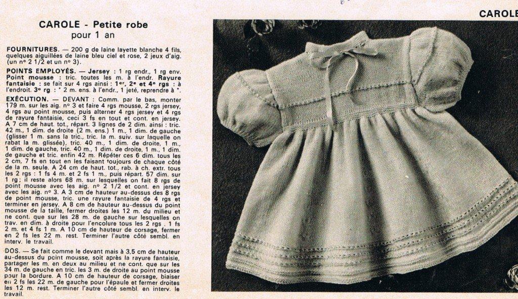 La petite robe à manches ballon dont il manquait une partie des explications dans ouvrages robe-carole-manches-ballon11-1024x593